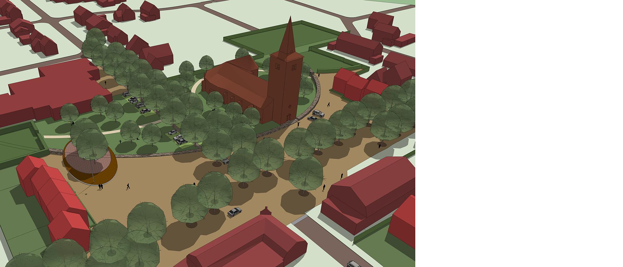 Grashoek ontwerp dorpshart