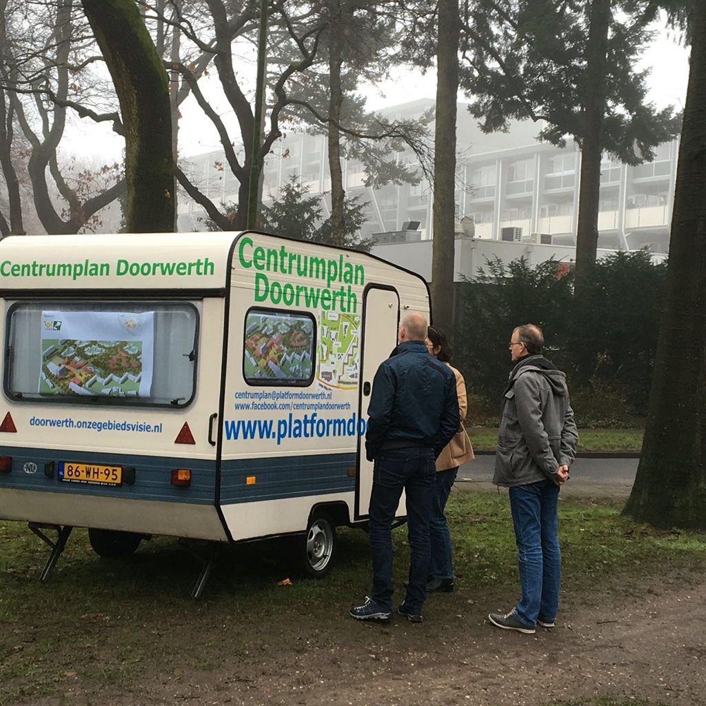 Start co-creatie via internet in Doorwerth